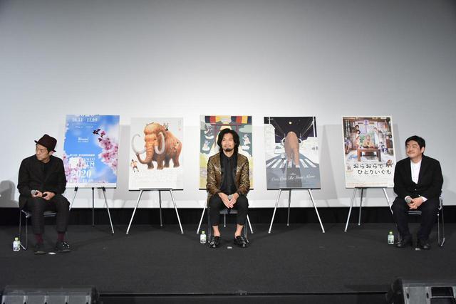 画像: 左より宮藤官九郎・青木崇高・沖田修一監督
