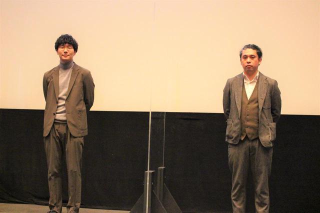 画像: 左より前原滉、池田暁 監督