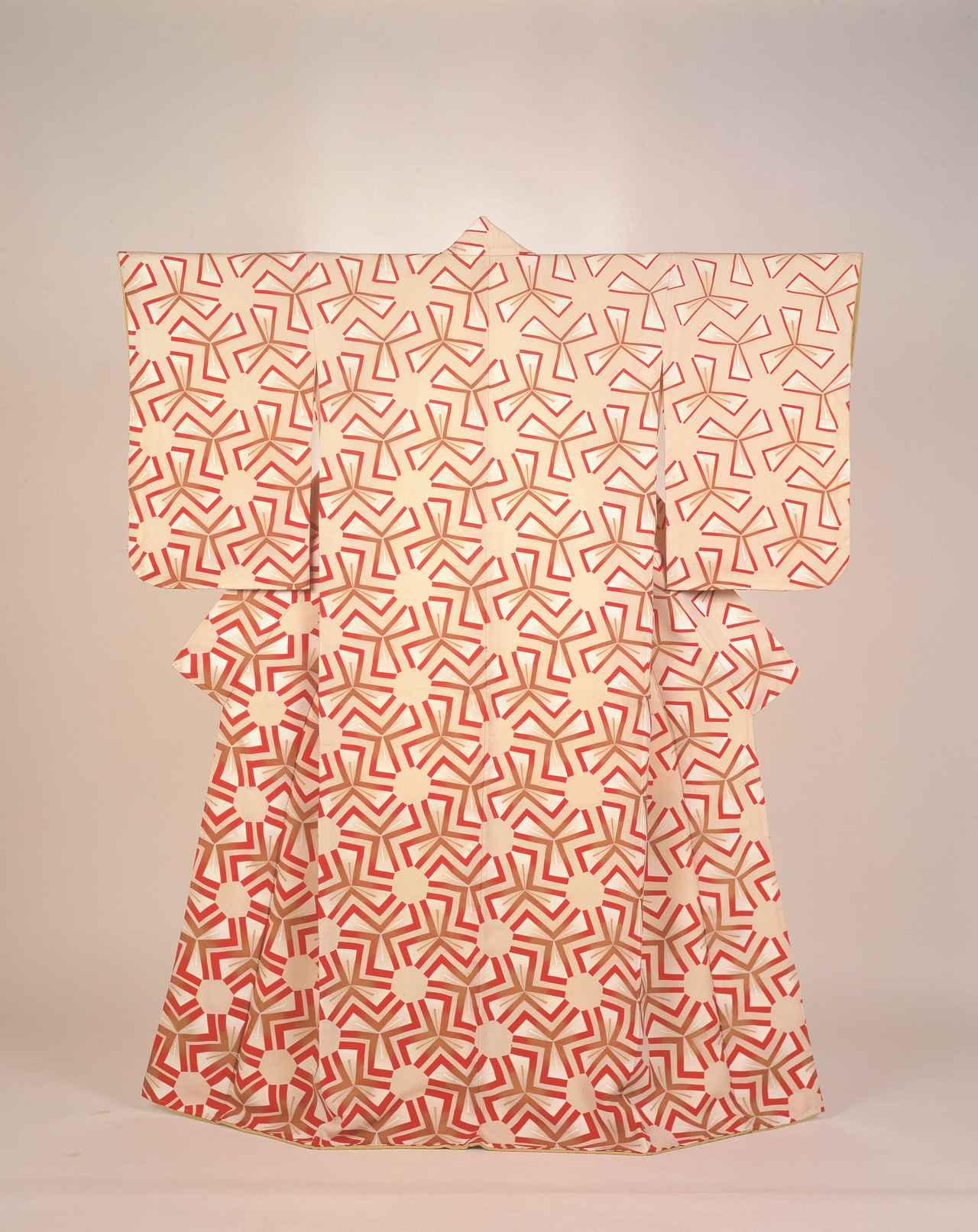 画像: 森口邦彦 《友禅着物「千花」》 1969年
