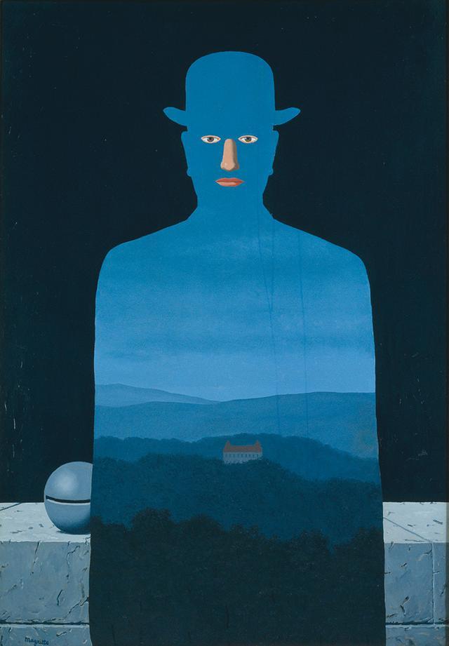 画像: ルネ・マグリット  《王様の美術館》 1966年   油彩、カンヴァス 130.0×89.0cm   横浜美術館蔵