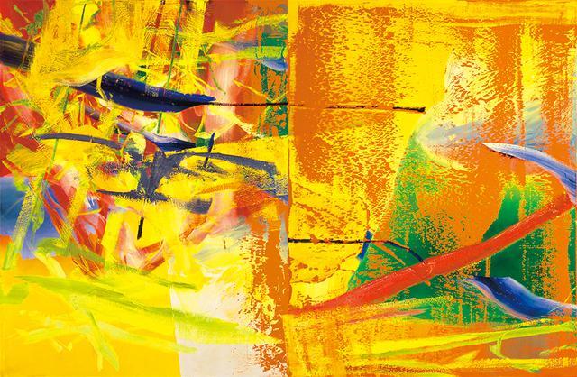 画像: ゲルハルト・リヒター 《オランジェリー》 1982年 油彩、カンヴァス 260.0×400.0cm 富山県美術館蔵 © Gerhard Richter 2020(16062020)