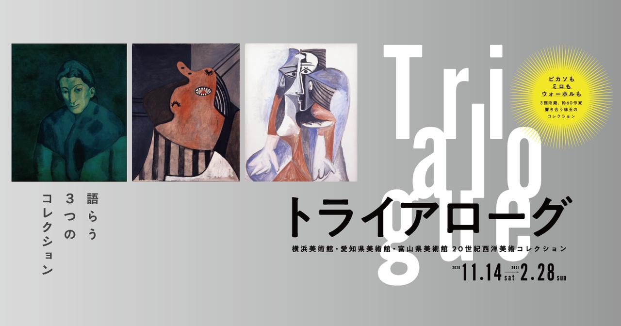 画像: トライアローグ:横浜美術館・愛知県美術館・富山県美術館 20世紀西洋美術コレクション   横浜美術館
