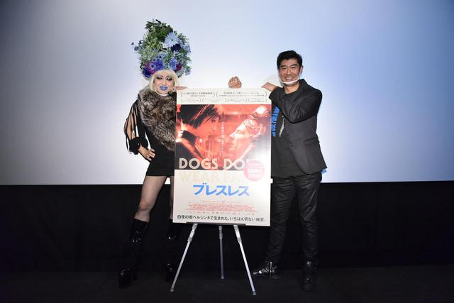 画像: 左よりヴィヴィアン佐藤と髙嶋政宏