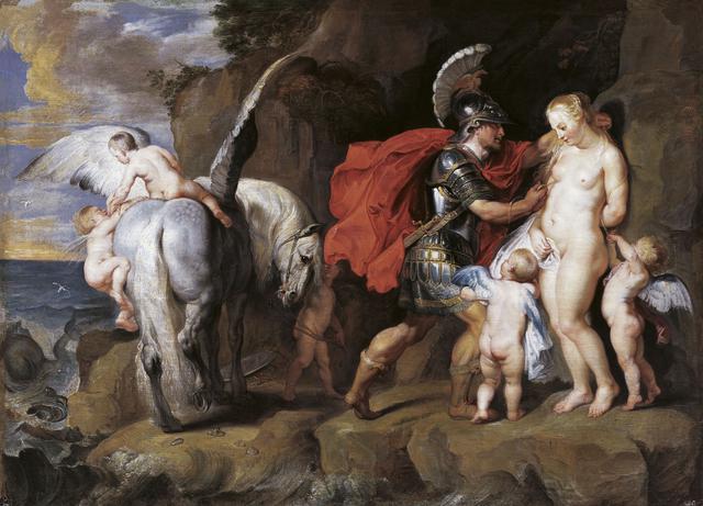 画像: ぺーテル・パウル・ルーベンスと工房《ペルセウスとアンドロメダ》1622年以降、油彩・キャンヴァス © LIECHTENSTEIN. The Princely Collections, Vaduz-Vienna