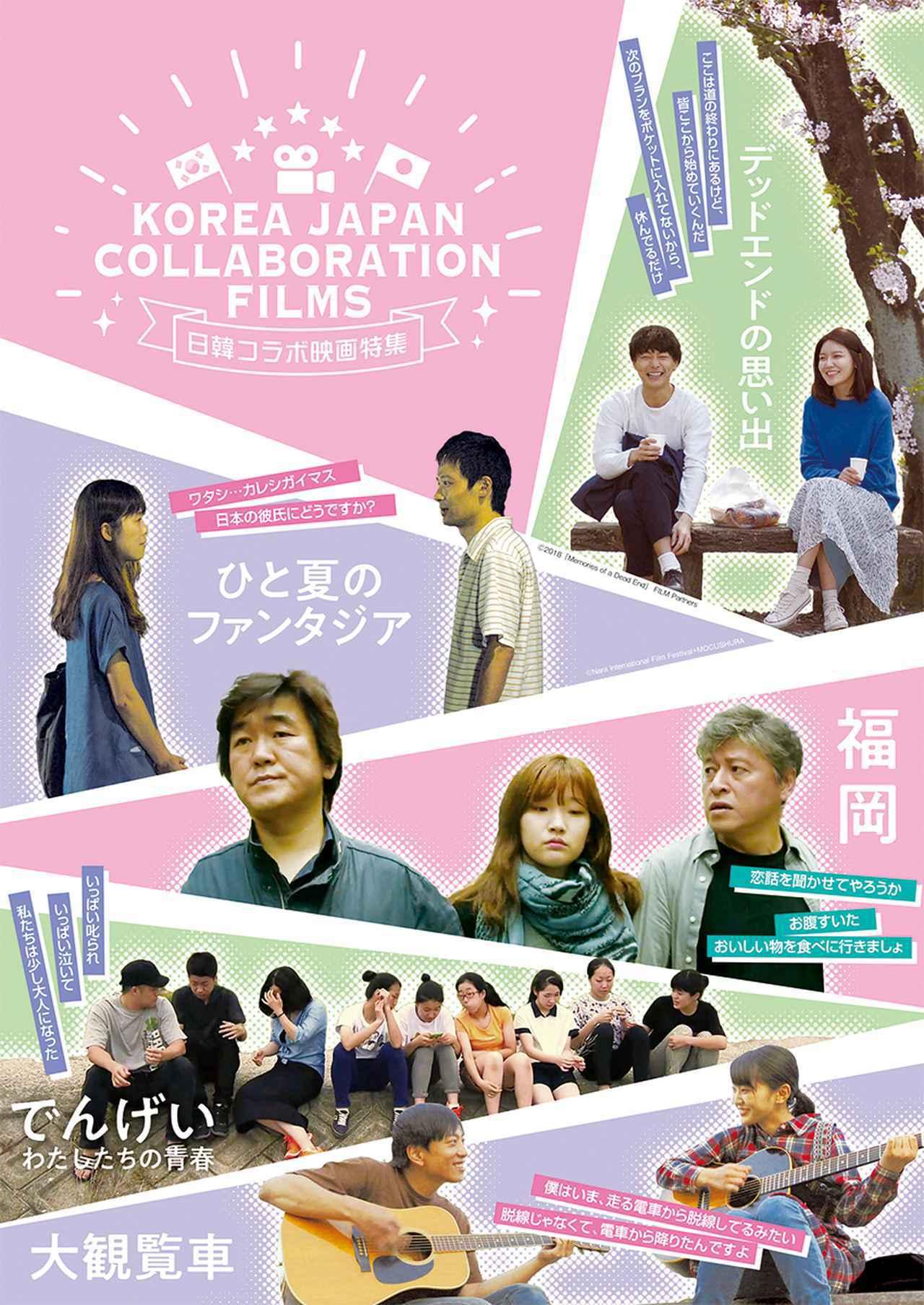 画像: 「日韓コラボ映画特集」企画の趣旨、概要