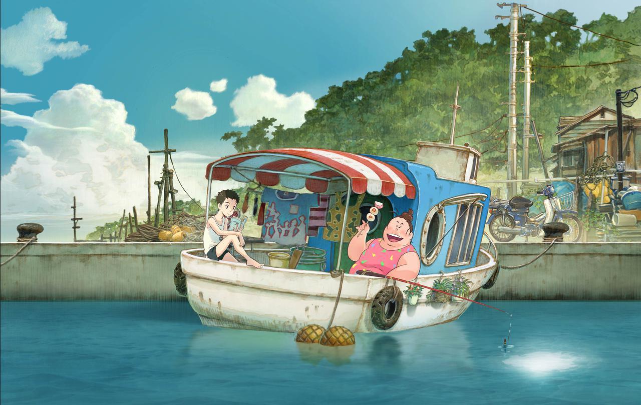 画像: ©2021「漁港の肉子ちゃん」製作委員会