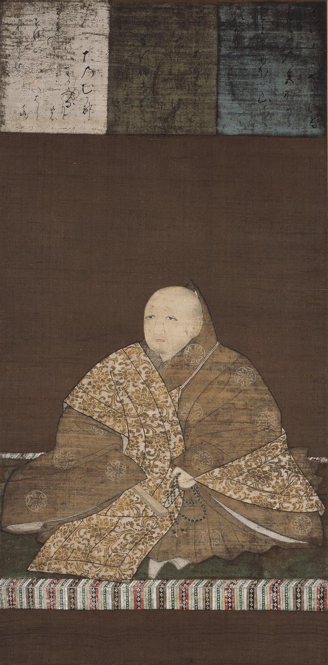 画像: 《足利義満像》 飛鳥井雅縁賛 一幅 絹本著色 室町時代 十五世紀 鹿苑寺蔵