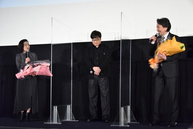 画像1: 「願わくば、またあの熱気で仲間たちと映画を撮れたら。」主演の役所広司を筆頭に、仲野太賀、六角精児、北村有起哉、西川美和監督が登壇!わたしたちの『すばらしき世界』を語る