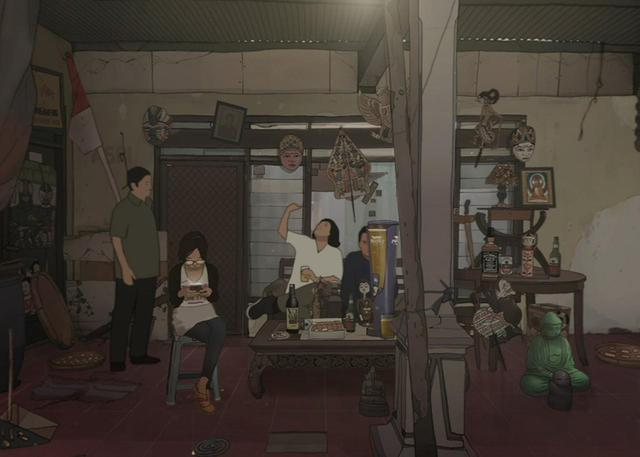 画像: 「Replacements/諸行無常」 監督:Jonathan Hagard(日本、インドネシア、ドイツ)