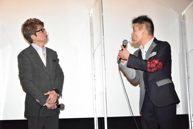 画像: 左より哀川翔、柳沢慎吾