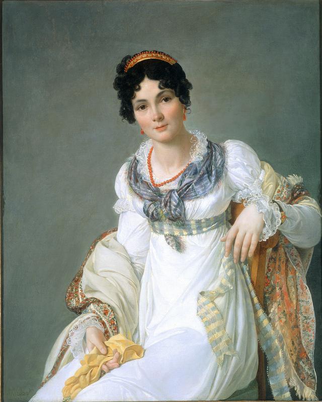 画像: フランソワ=アンリ・ミュラール《貴婦人の肖像》1810 年頃 油彩、カンヴァス 東京富士美術館蔵
