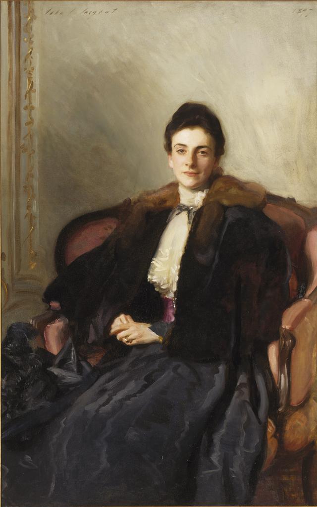 画像: ジョン・シンガー・サージェント 《ハロルド・ウィルソン夫人》 1897年 油彩、カンヴァス 東京富士美術館蔵