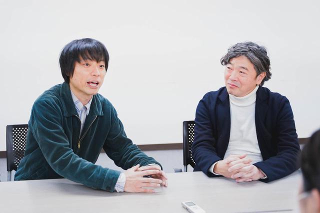 画像: 左より前田弘二監督、プロデューサー小池賢太郎氏