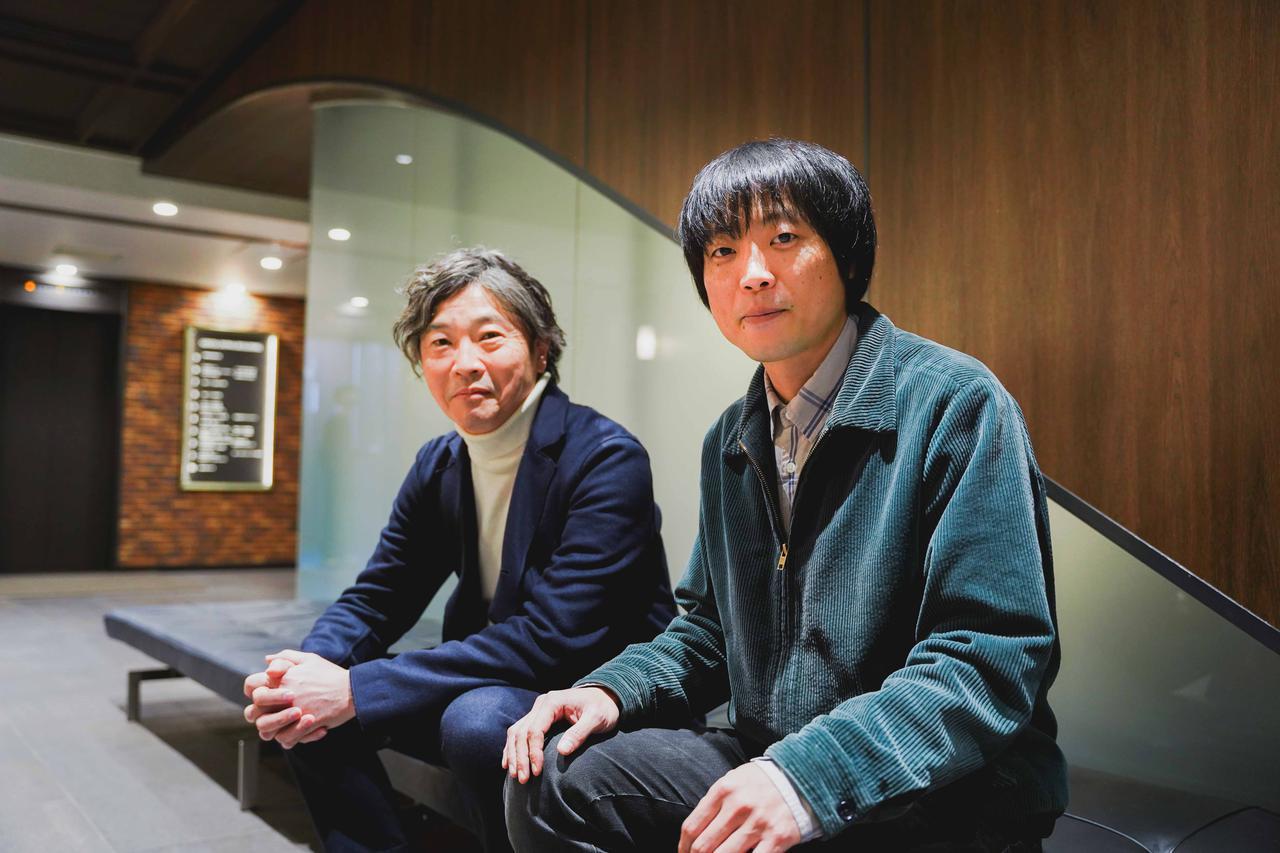 画像: 左より小池賢太郎プロデューサー、前田弘二監督