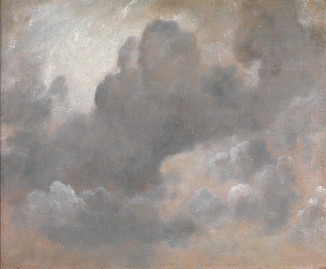 画像: ジョン・コンスタブル《雲の習作》1822年、油彩/厚紙に貼った紙、47.6×57.5cm、 テート美術館蔵 ©Tate