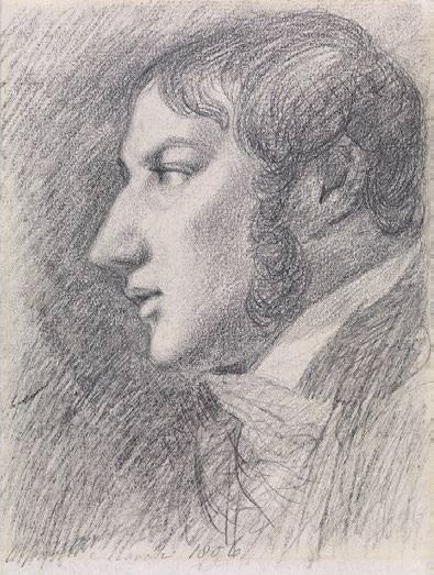 画像: ジョン・コンスタブル《自画像》1806年、グラファイト/紙、19.0×14.5cm、テート美術館蔵 ©Tate