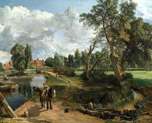 画像: ジョン・コンスタブル《フラットフォードの製粉所(航行可能な川の情景)》1816 -17年、油彩/カンヴァス、101.6×127.0cm、テート美術館蔵 ©Tate