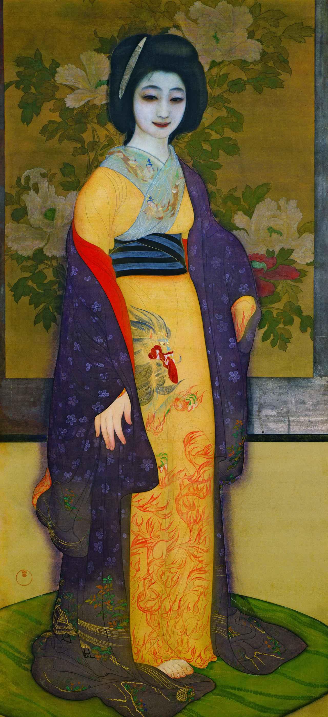 画像: 甲斐庄楠音 《横櫛》 大正5(1916)年頃、京都国立近代美術館、通期展示