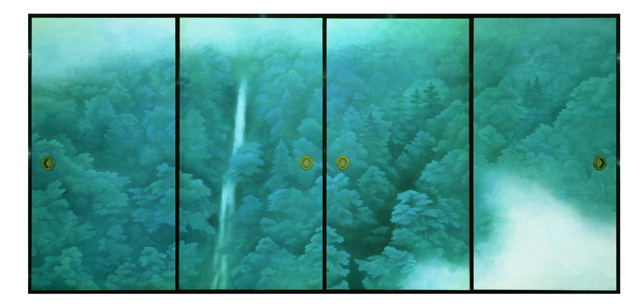 画像1: 《唐招提寺御影堂障壁画 山雲》 (部分) 1975(昭和50)年 唐招提寺蔵