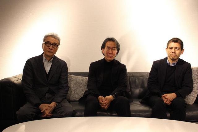 画像: 左より、葛西薫氏(アートディレクター) 、上田義彦監督(写真家・映画監督)、司会・進行:菅付雅信氏