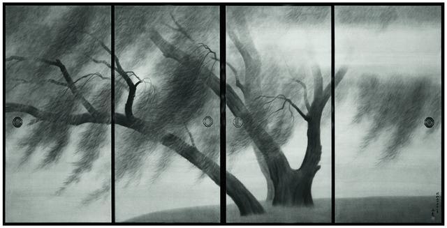画像: 《唐招提寺御影堂障壁画 揚州薫風》(部分) 1980(昭和55)年 唐招提寺蔵