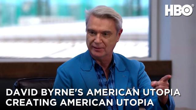 画像: David Byrne's American Utopia (2020): Creating American Utopia | HBO youtu.be