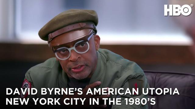 画像: David Byrne's American Utopia (2020): New York City in the 1980's | HBO youtu.be
