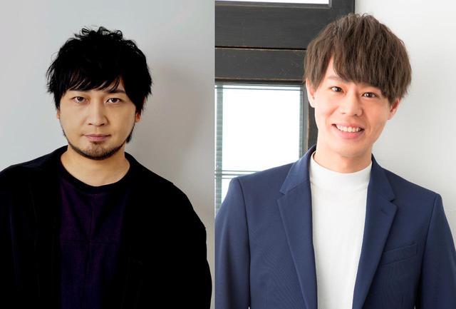画像: 左より中村悠一、神尾晋一郎
