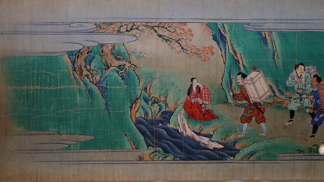 画像: 伝・狩野山楽 酒呑童子絵巻 江戸時代17世紀 根津美術館蔵 3巻のうち上巻・部分