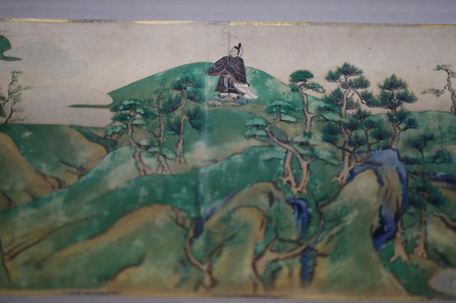 画像: 北野天神縁起絵巻  室町時代16世紀 根津美術館蔵 重要美術品 全6巻のうち第3巻・部分
