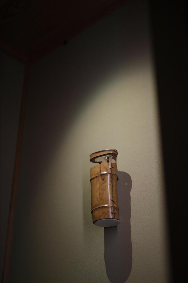 画像: 小堀遠州 一重切竹花入 銘「藤浪」江戸時代17世紀 根津美術館蔵