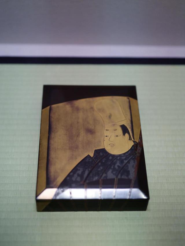 画像: 伝・尾形光琳 業平蒔絵硯箱 江戸時代18世紀 根津美術館蔵