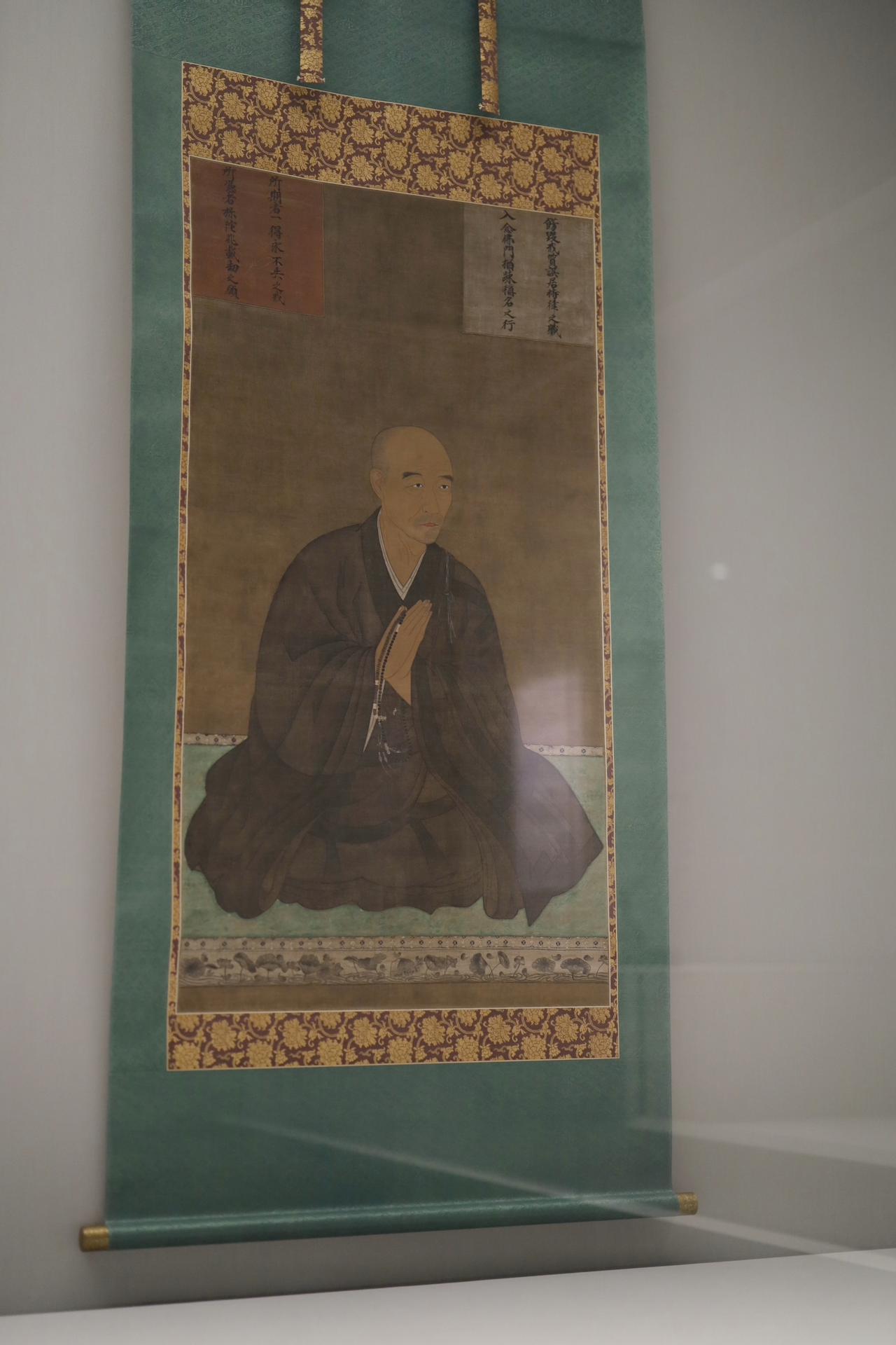 画像: 等龍 真盛上人像 滋賀・西教寺 室町時代 文亀3(1503)年