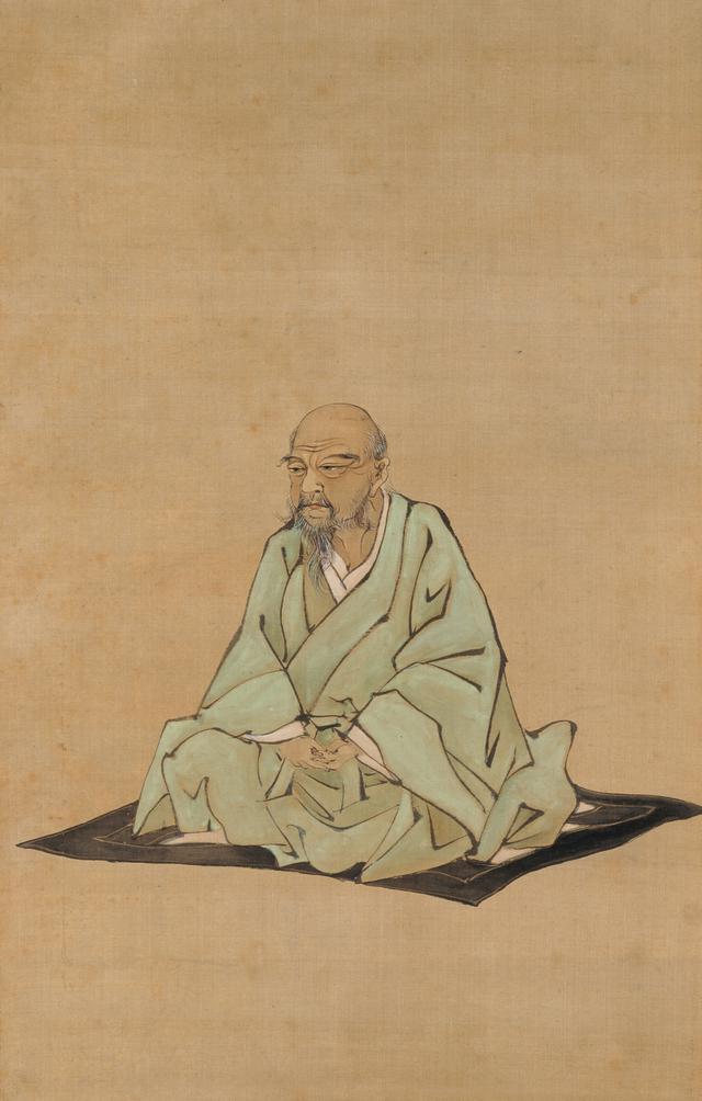 画像: 《伊藤若冲像》久保田米僊筆 一幅 絹本著色 明治時代 相国寺蔵