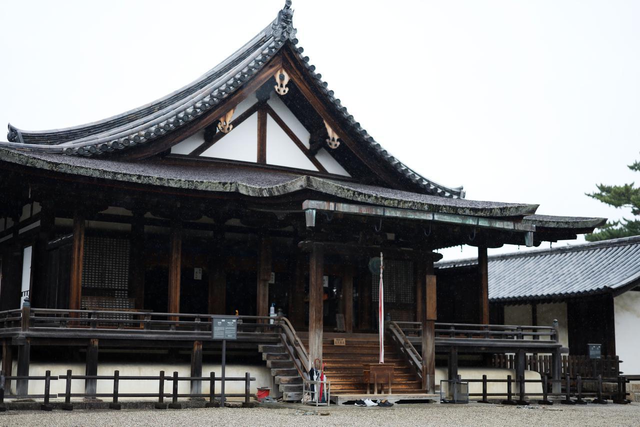 画像: 世界文化遺産・法隆寺 聖霊院 鎌倉時代 国宝