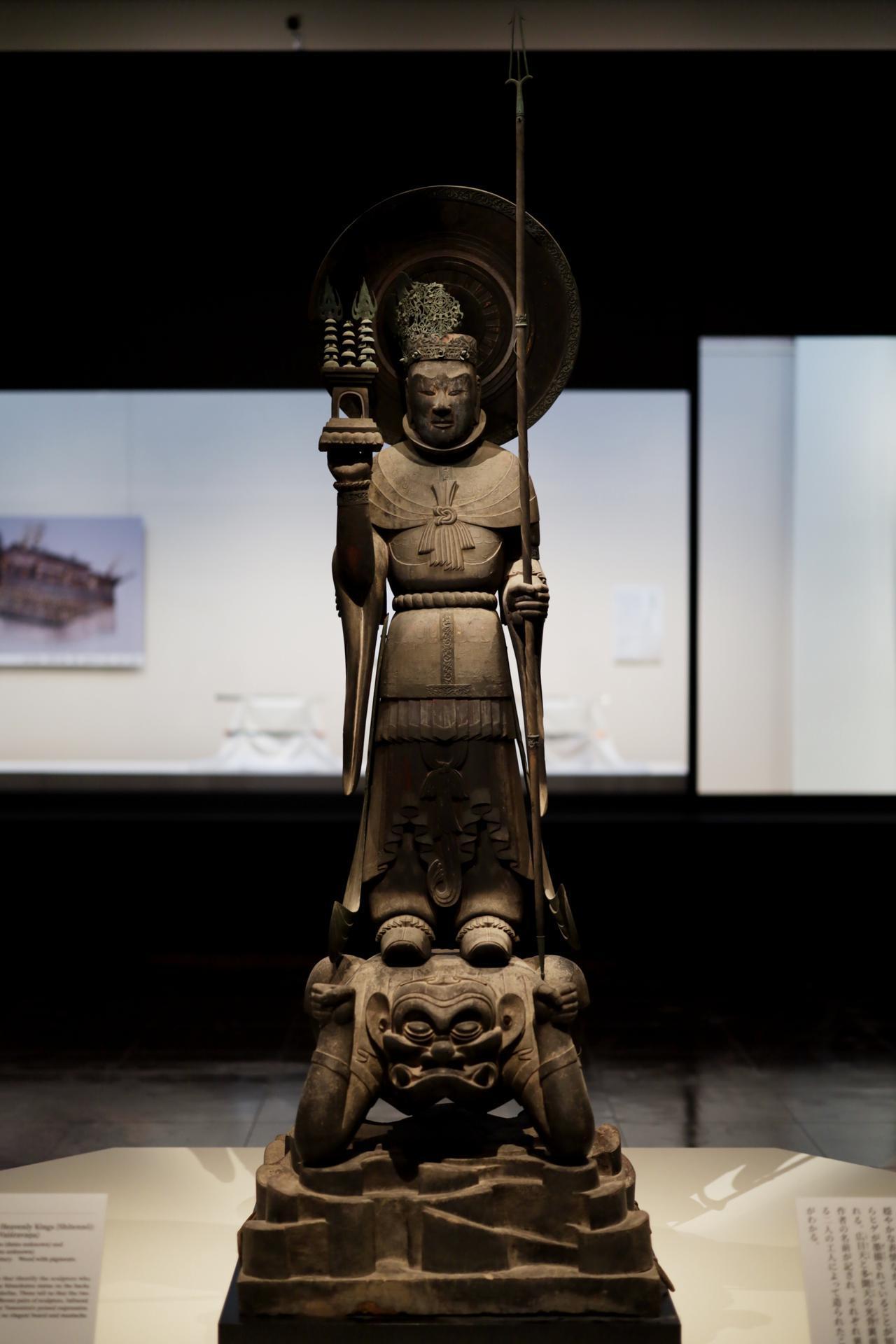 画像1: 四天王立像・多聞天 飛鳥時代7世紀 奈良・法隆寺(金堂安置) 国宝
