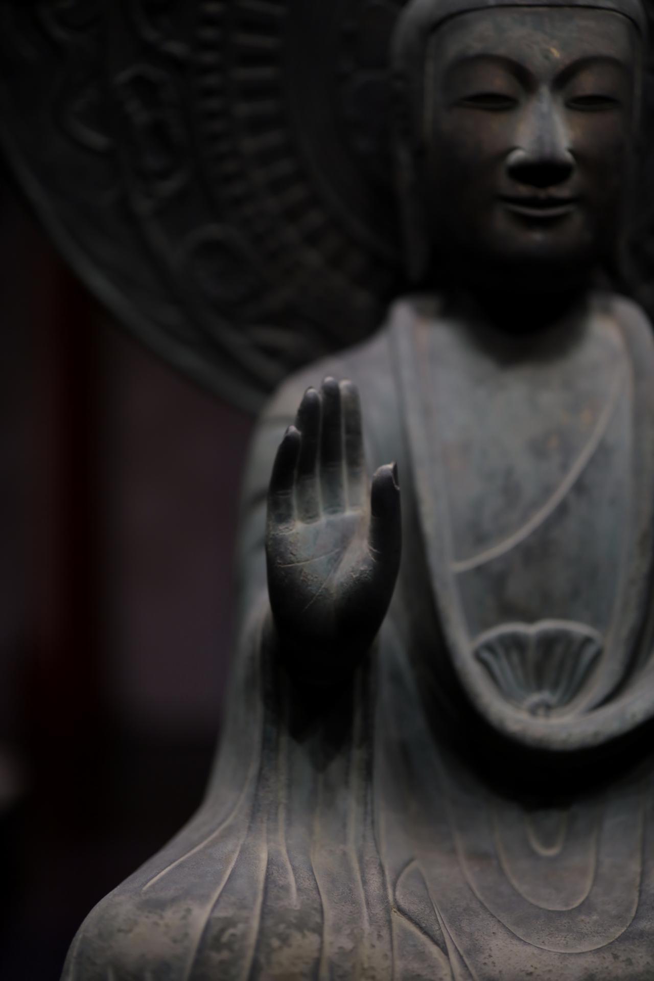 画像2: 薬師如来坐像 飛鳥時代7世紀 奈良・法隆寺 国宝