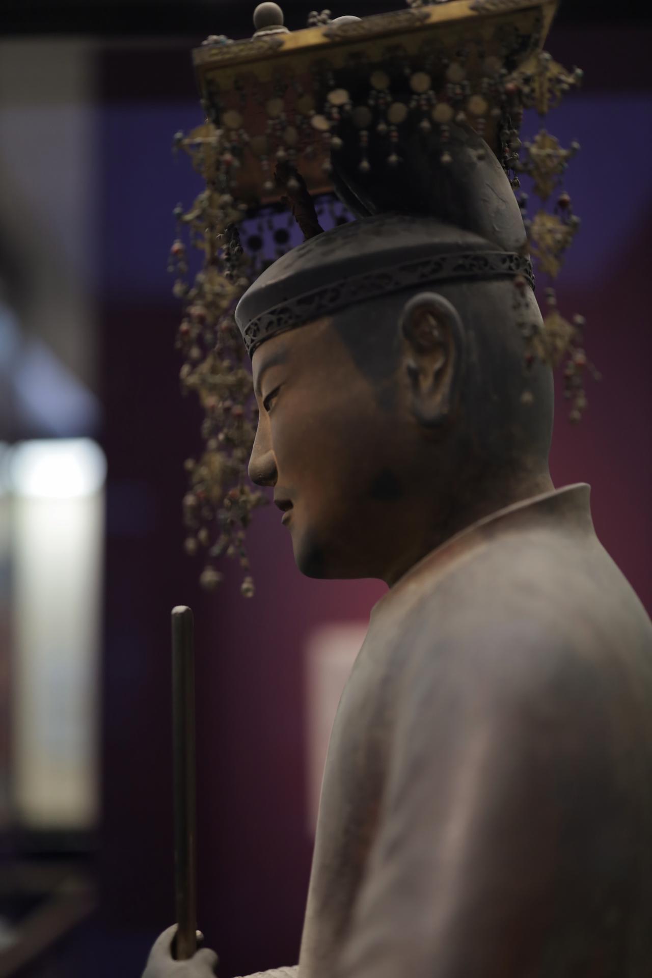 画像4: 聖徳太子坐像 平安時代 保安2(1121)年 奈良・法隆寺(聖霊院安置・秘仏) 国宝 部分