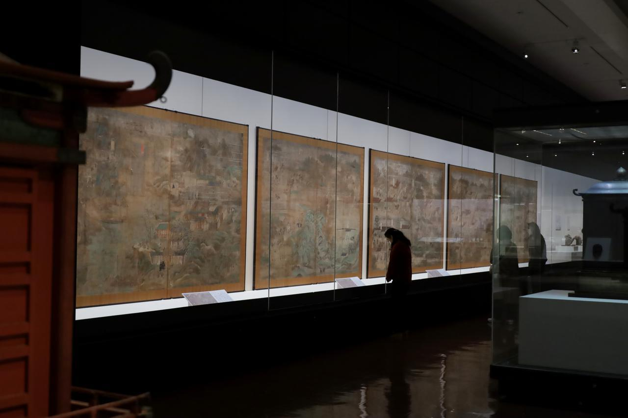 画像: 太子の生涯を描く「聖徳太子絵伝」東京国立博物館(法隆寺献納宝物)国宝