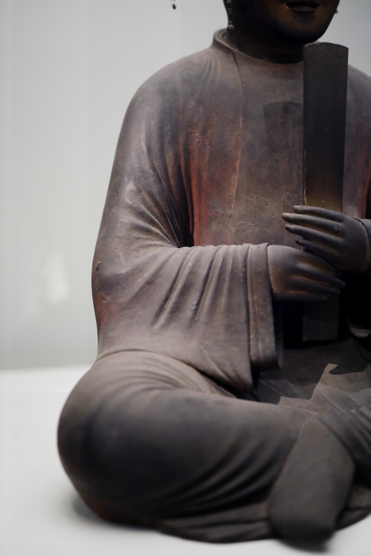 画像3: 聖徳太子坐像 平安時代 保安2(1121)年 奈良・法隆寺(聖霊院安置・秘仏) 国宝 部分