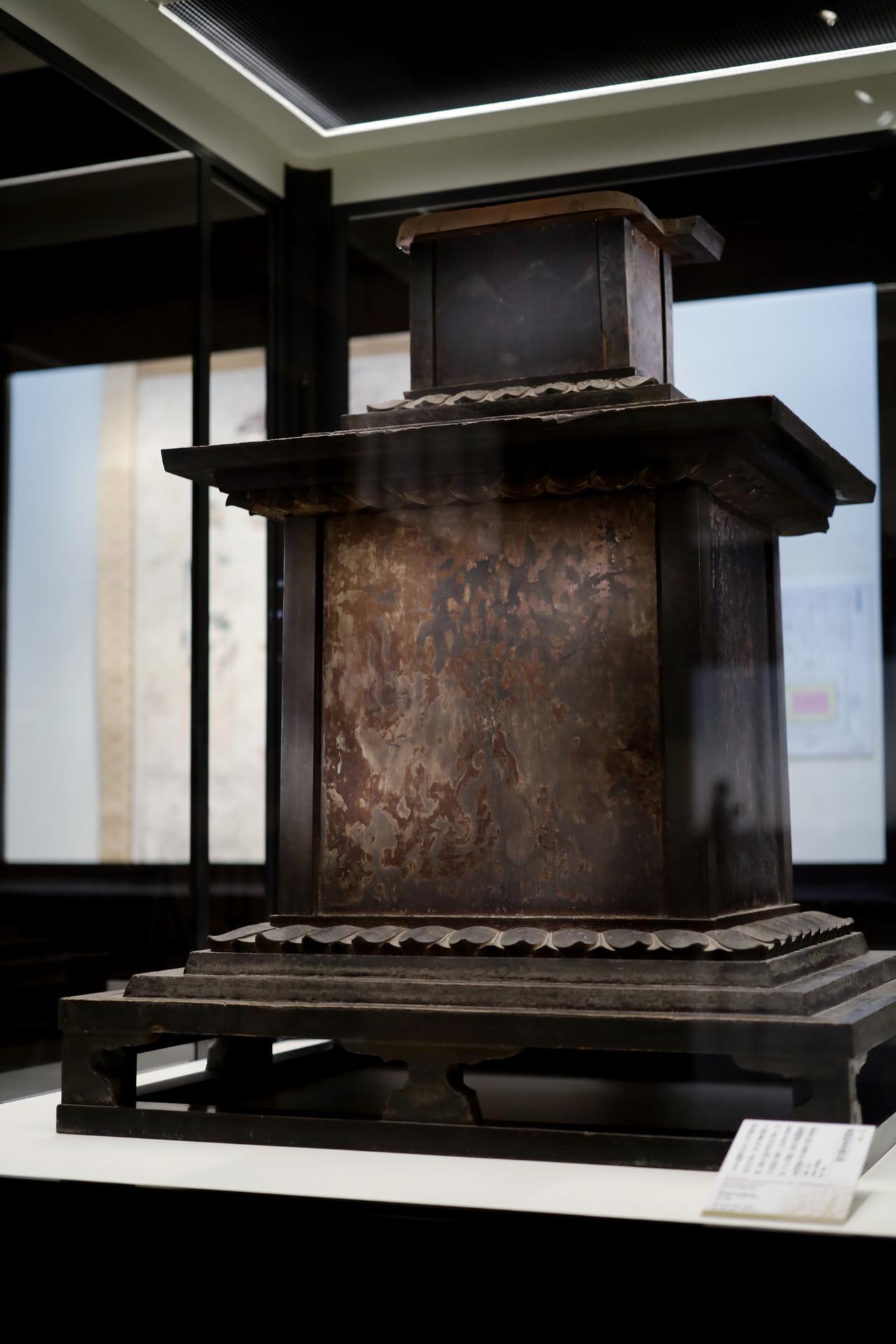 画像: 薬師如来坐像 台座 飛鳥時代7世紀 奈良・法隆寺 国宝