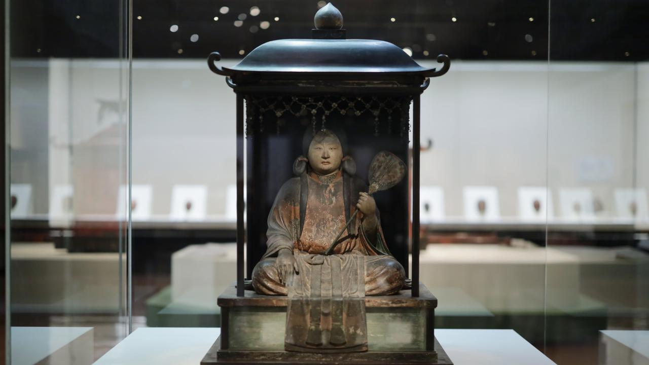 画像2: 聖徳太子坐像(伝 七歳像)平安時代 治暦5(1069)年 奈良・法隆寺 重要文化財