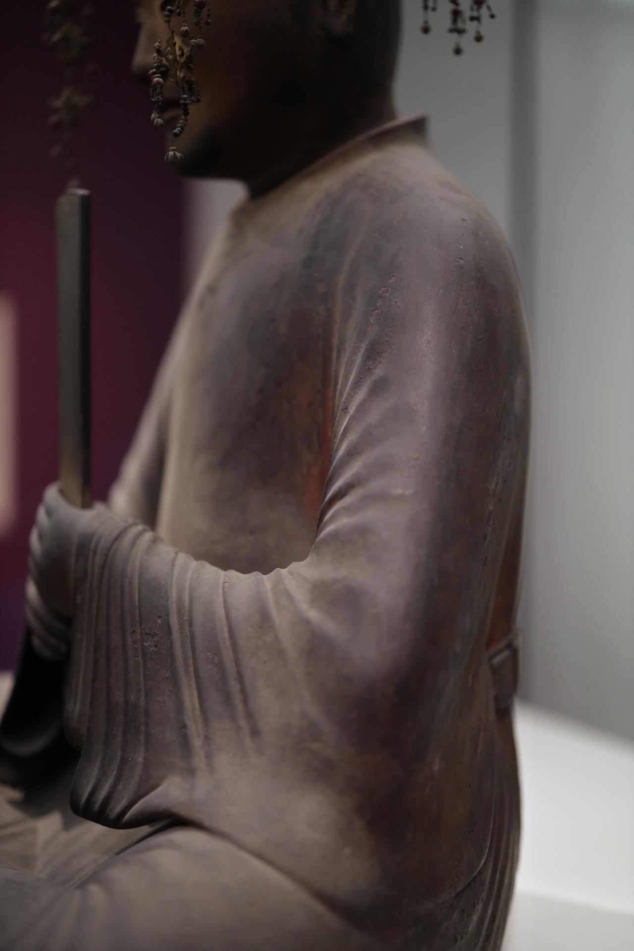 画像1: 聖徳太子坐像 平安時代 保安2(1121)年 奈良・法隆寺(聖霊院安置・秘仏) 国宝 部分