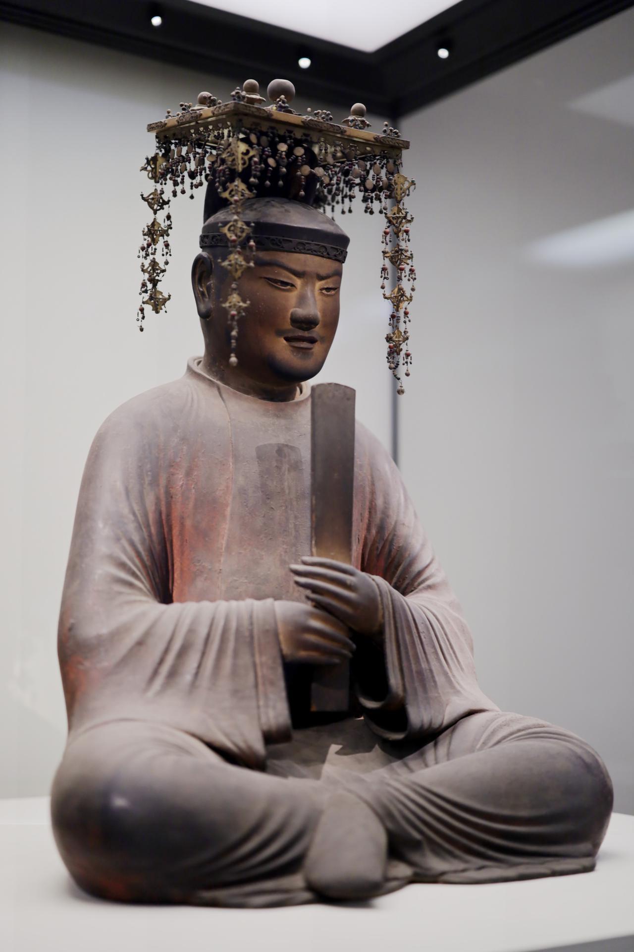 画像: 聖徳太子坐像 平安時代 保安2(1121)年 奈良・法隆寺(聖霊院安置・秘仏) 国宝