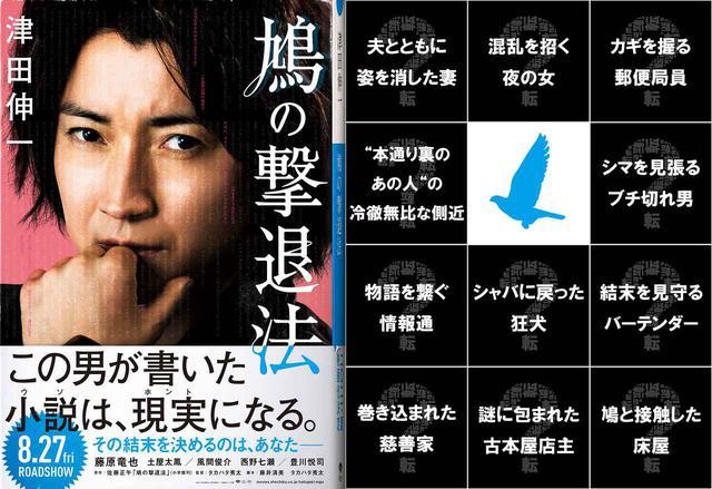 画像1: ©2021「鳩の撃退法」製作委員会 ©佐藤正午/小学館