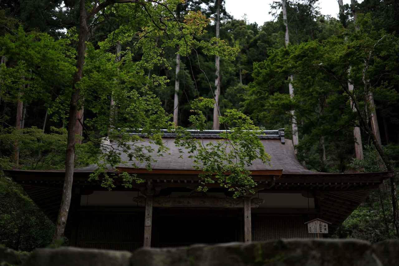 画像: 世界文化遺産・高山寺 本堂 江戸時代の再建
