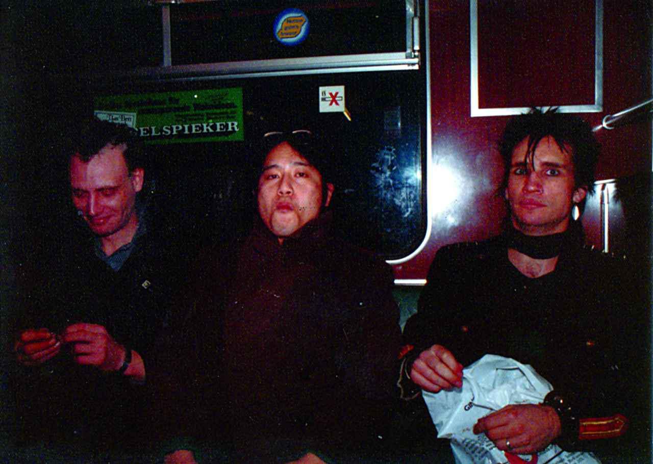 画像: 闇のカーニバル ベルリン 友達になったパンクスのフランクとアクセルと