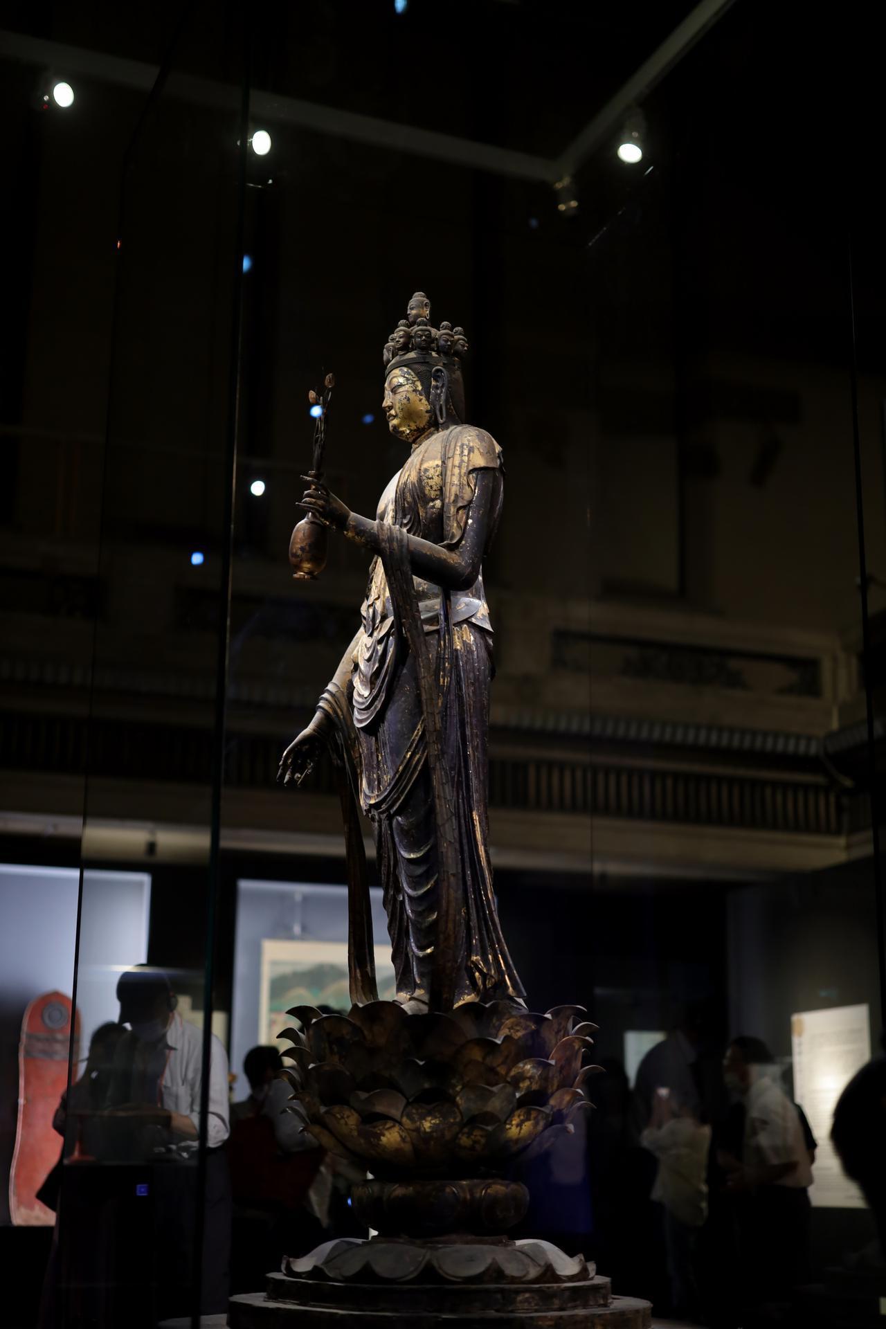 画像4: 国宝 十一面観音菩薩立像 奈良時代・8世紀 奈良・聖林寺蔵