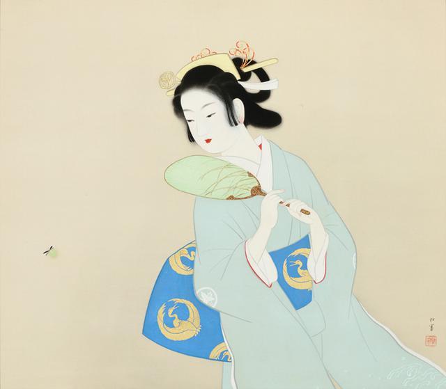 画像: 上村松園《初夏の夕》1949年 京都市美術館蔵 [通期展示]