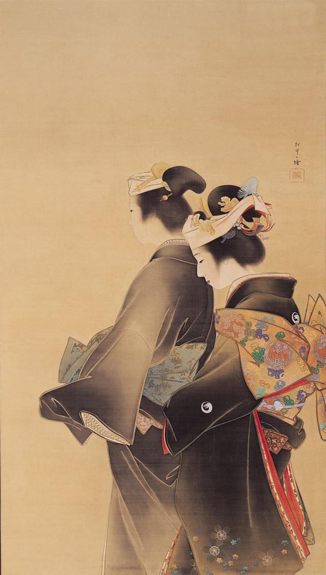 画像: 上村松園《人生の花》1899年 京都市美術館蔵 [通期展示]